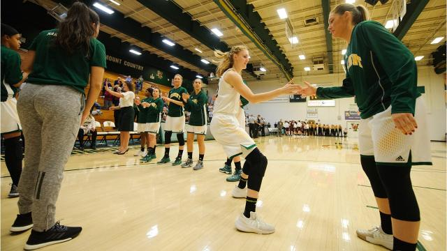 The University of Vermont women's basketball team hosts Norwich on Wednesday, Nov. 15, 2017 at Patrick Gym. (Photos by Brian Jenkins/For the Free Press)