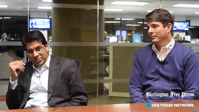 Faisal Nisar, founder of ZRF, and Todd Schurz of Schurz Communications are combining forces and have come up with a partnership proposal to buy Burlington Telecom.
