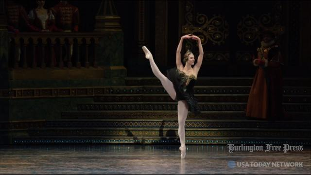 "Former South Burlington resident Devon Teuscher earned a leading role last spring in ""Swan Lake."" She was also selected to be a principal dancer for American Ballet Theatre's 2017-18 season. (Note: Due to union rules, music and scene do not match.)"