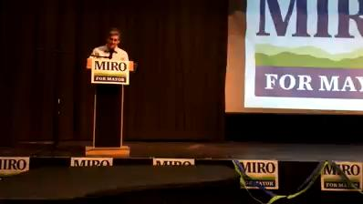 Miro Weinberger wins endorsement of Burlington Democrats