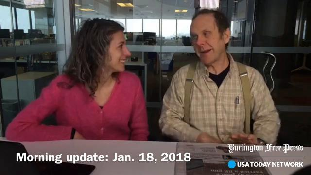 Morning update: Jan. 18, 2018