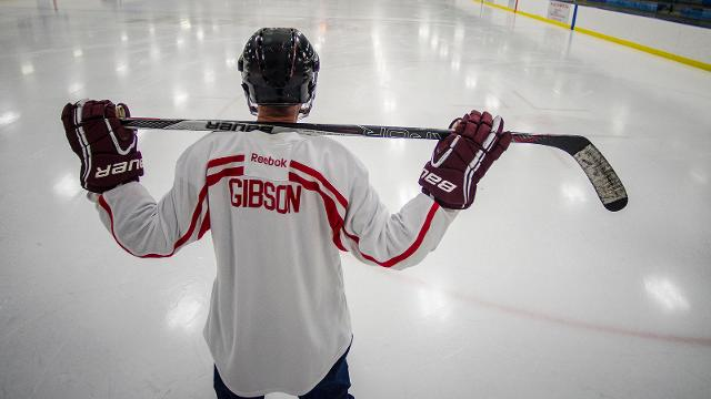 Hugh Gibson of Essex Junction, VT , was always fit, played hockey for decades and never thought a heart attack something something he'd have to deal with. All that changed when doctors discovered two deadly artery blockages in his heart.