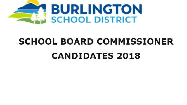 Introducing the candidates for School Board in the Burlington School District. At least 5 new faces will join the board in March.