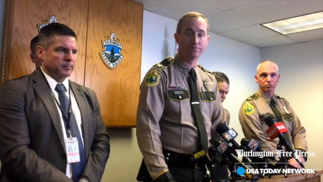 Col. Matthew Birmingham of the Vermont State Police held a news conference in Williston on Monday, February 12, 2018, to explain the fatal shooting on Sunday of Ben Gregware.
