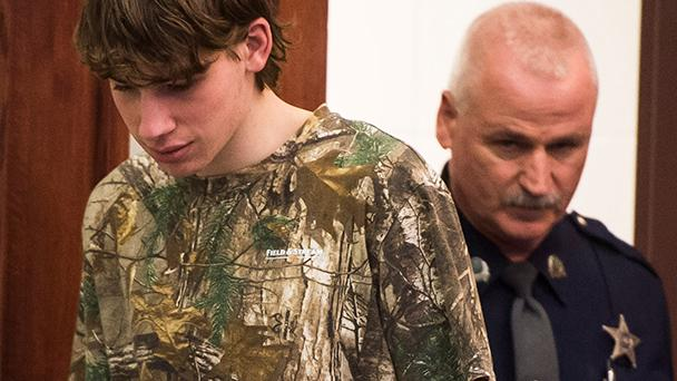 Officials praised a teen who they say alerted an adult to Jack Sawyer's alleged plot to enter Fair Haven Union High School with a shotgun and kill students. The revelations came Friday, Feb. 16, 2018, as Sawyer was arraigned for attempted murder.