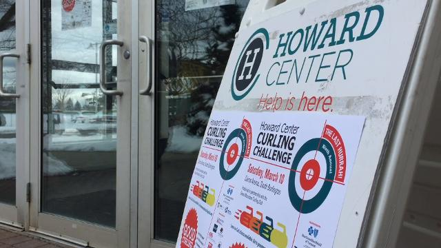 Highlights from the ninth (and final) Howard Center Curling Challenge held March 10 at Cairns Arena in South Burlington