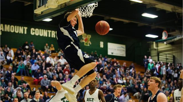 MMU boy's basketball team fought off Rice to win 58-54 and head to the state championship on Saturday to face Rutland.