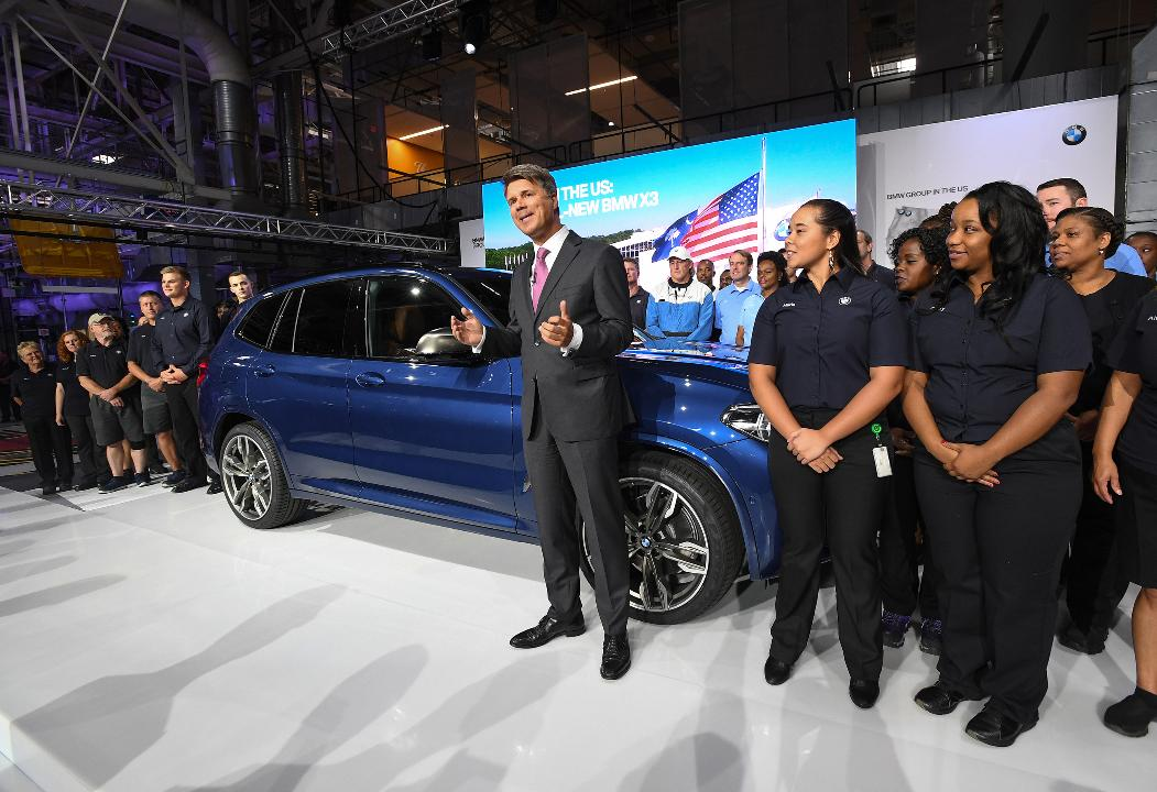 BMW celebrates 25 years in upstate
