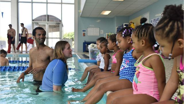 YMCA Greenville is taking water safety lessons beyond its pools and out to public housing
