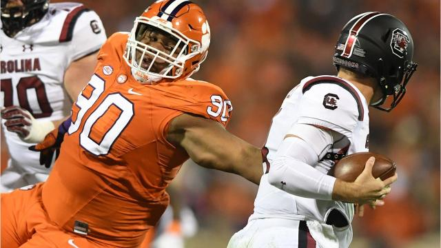 """Dynamic duo: Clemson's Wilkins, Lawrence on everyone's """"watch list"""""""