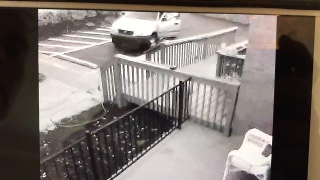 American flag thief