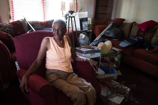 Alice Gary, who has rented her house in West Greenville for 25 years, is being pushed out due to development of the area.