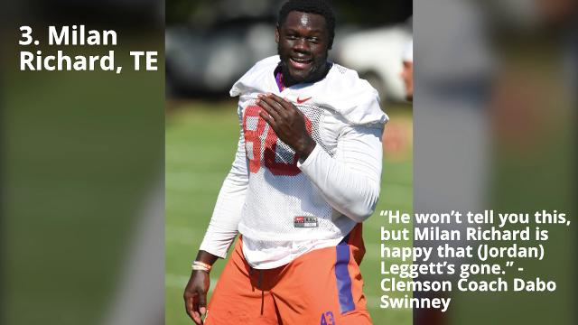 Five Tigers to Watch in Clemson's Fall Camp
