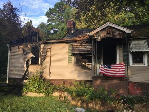Three people were hospitalized Friday after a house fire in Travelers Rest. The Greenville County Sheriff's Office's arson unit is investigating the incident, said Sgt. Jimmy Bolt of the Greenville County Sheriff's Office.