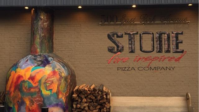 Stone Pizza Company in Greenville uses a traditional stone over made in Naples, Italy, heated to 900 degrees, for its Neapolitan pizzas.