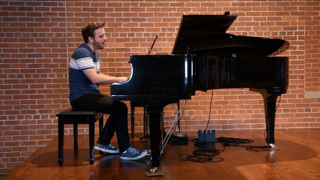 """On this week's """"On Stage with Donna Walker,"""" we feature singer/songwriter Nathan Angelo. He plays two songs off his new album, """"Matter of Time,"""" and talks about the personal message in his songs."""