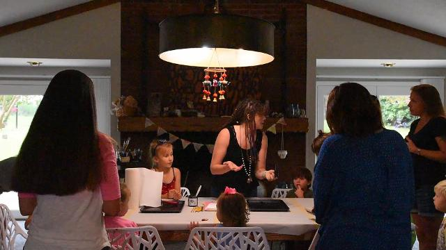 Lauren Runion of Yellow Bobby Pins Art Camp discusses the importance of parents and children engaging in art together.