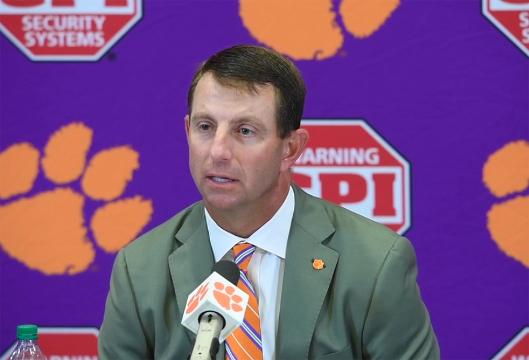 Dabo Kent State post game press conference.