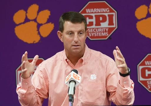 Dabo: Lamar Jackson's scrambling can stress a defense