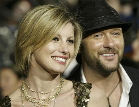 On Stage with Donna Walker: Faith Hill Tim McGraw