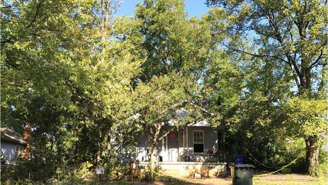 Greenville man describes the moments after a tree fell on his home