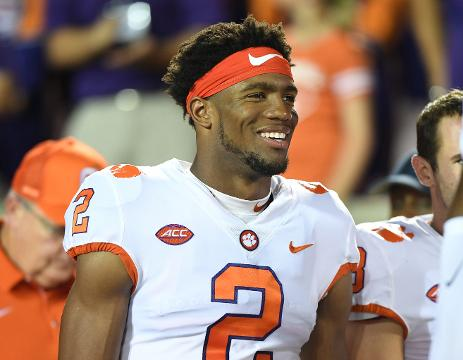 best sneakers 34be6 d8d06 Clemson's Kelly Bryant after Louisville win