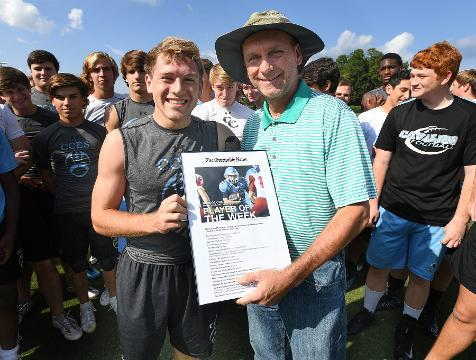 Greenville News Player of the Week CCES: Roscoe Cox