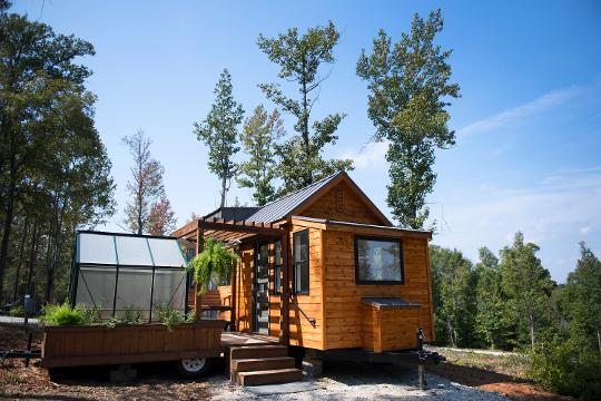 Tiny home living in Greer