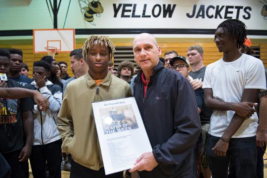 Greer's Dre Williams is the Greenville News Player of the Week.