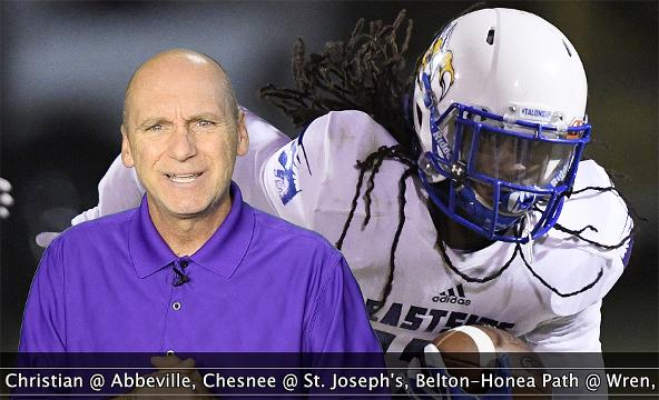 """The lineup includes Union County-Greer, Eastside-Blue Ridge, Southside Christian-Abbeville and BHP-Wren in the Week 9edition of """"Seven Points with Bob Castello."""""""