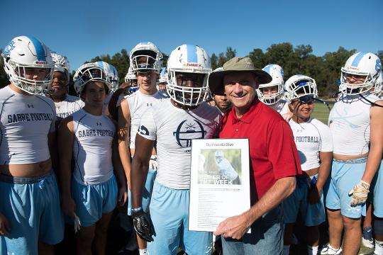 This week's Greenville News Player of the Week is Southside Christian's Malory Pinkney.