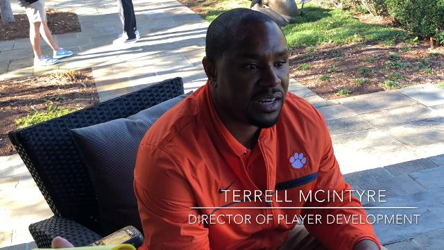 Former Clemson Tigers point guard Terrell McIntyre describes what it's like laying in the EuroLeague.