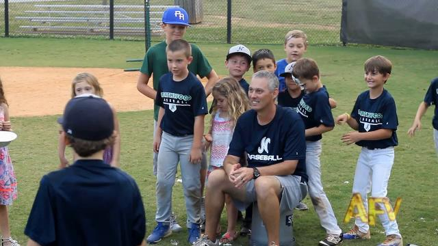 An eight-and-under Northwood Little League team will have a light moment captured on camera after practice this summer featured Sunday, Nov. 5, 2017, on America's Funniest Home Videos.