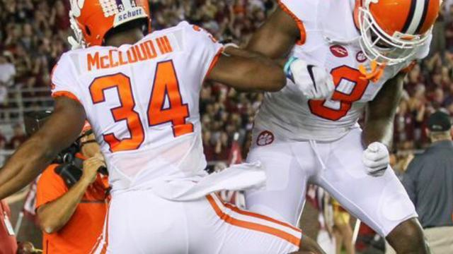 """The Clemson Tigers have 13 players on their roster who played high school football in Florida and for them, playing Florida State is """"always"""" an even bigger game than usual."""