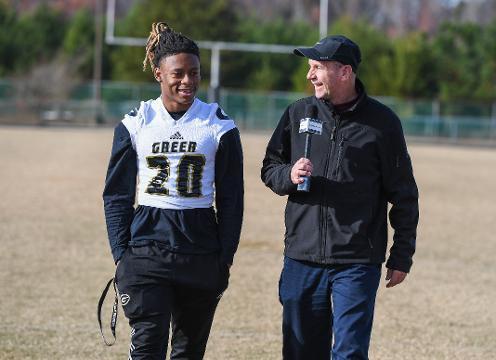 """100 Yards"" with Greer WR:DB Qua White"