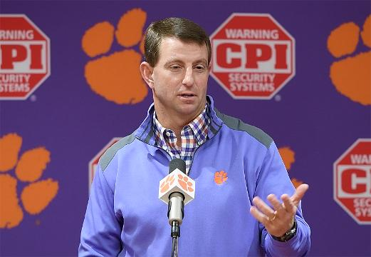 Dabo understands the rivalry