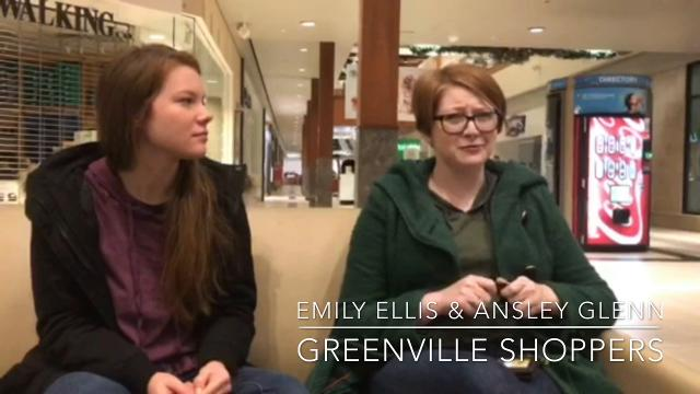 Greenville shoppers Emily Ellis and Ansley Glenn talk about why they're out so early on Black Friday.