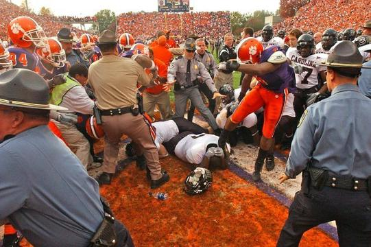 What's the statute of limitations on rivalry game vandalism?