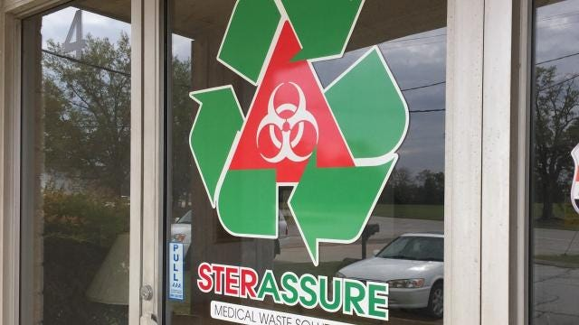 Mike McCuen is leading a Greenville company that takes medical waste 'from cradle to grave,' picking it up at funeral homes, clinics and coroner's offices, sterilizing it and safely dumping it. His company, SterAssure, is one of only two companies in South Carolina that does this kind of work.