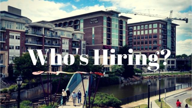 Check out the Upstate companies that are expanding and hiring this week.