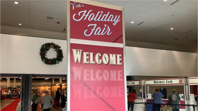 The 47th annual Holiday Fair goes on this weekend at TD Convention Center.