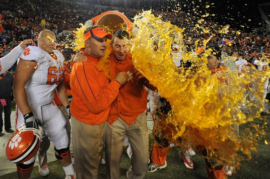 As the Clemson Tigers prepare to face the Miami Hurricanes on Saturday night in the ACC championship game in Charlotte, we go behind the lens with our ace photographer Bart Boatwright