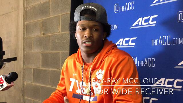 Clemson football players Ryam Carter and Ray-Ray McCloud said Miami's Turnover Chain was a major motivator during Saturday's game.