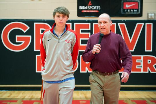 "The season premiere of ""Open Court with Bob Castello"" puts the spotlight on Greenville senior Wells Hoag, who was chosen one of the top five boys basketball players in Class AAAA in the preseason."
