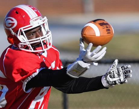 Greenville High wide receiver Ty Hellams was added to the Shrine Bowl roster just last week, but he's grateful nonetheless.