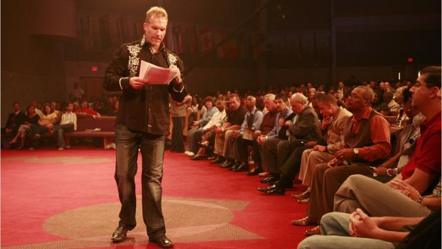 Redemption Pastor Ron Carpenter on his successor