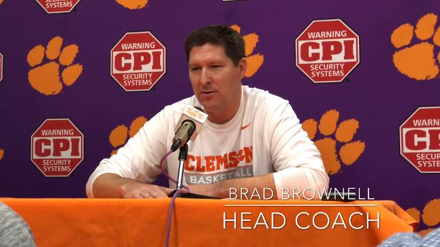Clemson's men's basketball coach Brad Brownell didn't hold back when he offered his thoughts on the Tigers' upcoming game against South Carolina, and the hype surrounding it.