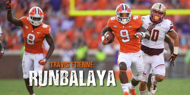 National Championship Vs Lsu Will Be Homecoming For Clemson S Travis Etienne