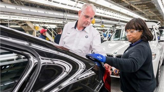 Want to know what the all new X7 from BMW will look like? These images from the German automaker's SC plant  will give you a good idea.