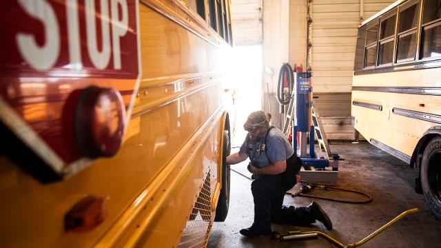Greenville News education reporter Paul Hyde runs through some of the numbers regarding South Carolina's school bus crisis.